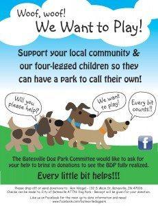 Dog Park Flyer