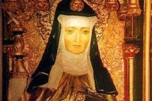 portrait of Hildegard Von Bingen