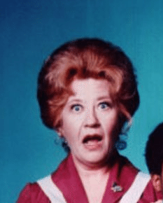 Photograph of Edna Garrett, played by Charlotte Rae, from Facts of Life