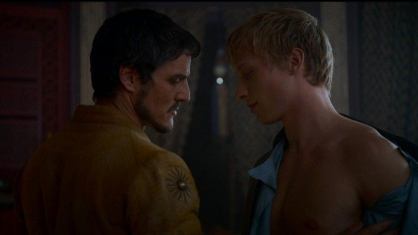 Oberyn comes on to Hot Blond Guy