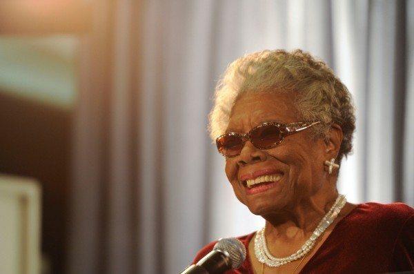 Photo of Maya Angelou smiling