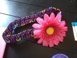 Completed Flower Collar