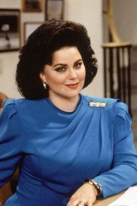 Photograph of actress Delta Burke as Suzanne Sugarbaker on TV show Designing Women