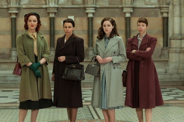the women of Bletchley Circle