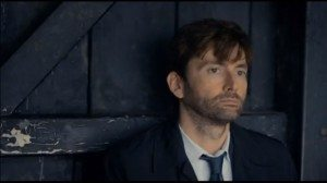 David Tennant, scruffy and gorgeous