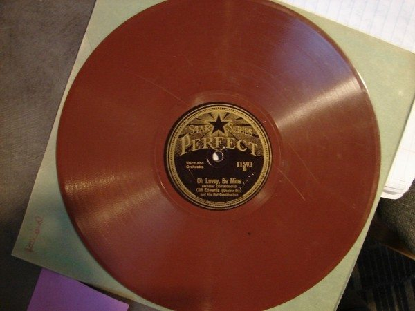 Cliff Edwards - Oh Lovey Be Mine (red shellac record)
