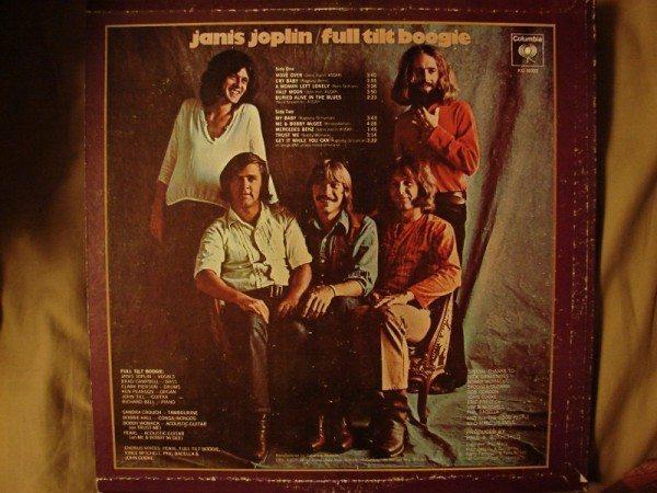 Janis Joplin - Pearl (back cover)