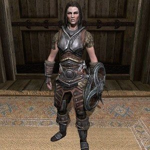 Lydia, a character from Skyrim