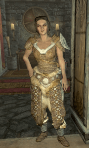 Ria, a character from Skyrim