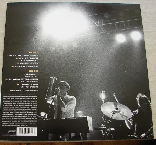 Ryan Adams - The Cardinals - Follow The Lights (back cover)