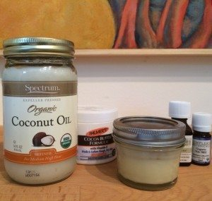 coconut oil and cocoa butter deodorant