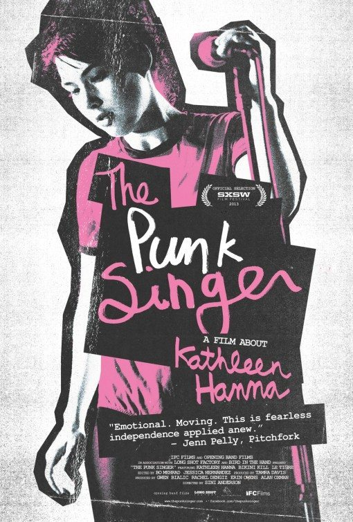 """Poster for """"The Punk Singer"""""""