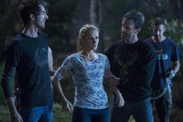 Sookie gets captured by infected vamps.