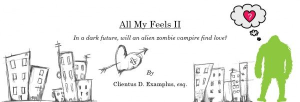 Screenplay cover mock-up for All My Feels II
