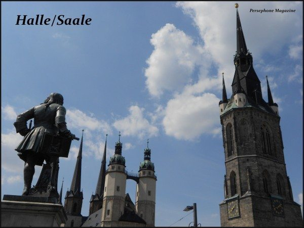 Halle/Germany, view from town square