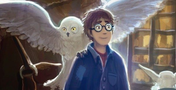 Harry Potter and the Philosopher's Stone artwork