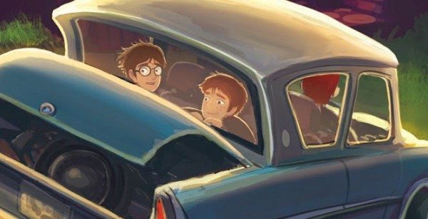 Artwork from Harry Potter and the Chamber of Secrets