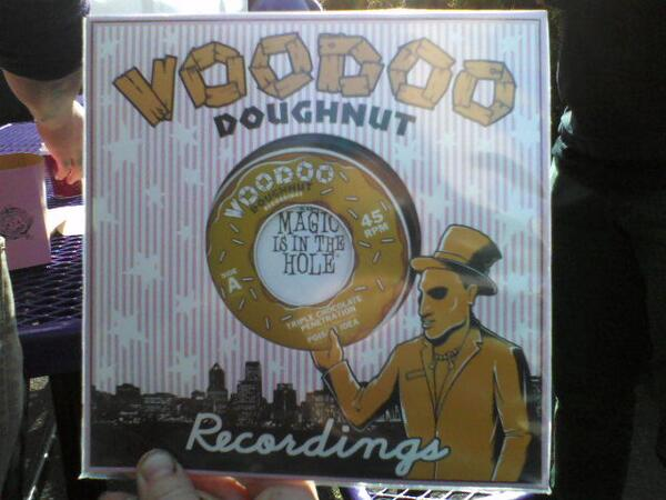 "Poison Idea - ""Triple Chocolate Penetration"" Voodoo Doughnut Recordings 45"