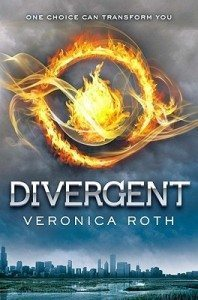 Cover of Divergent by Veronica Roth
