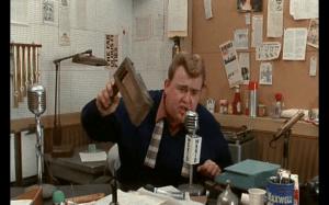 John Candy as Wink Wilkinson, radio DJ.