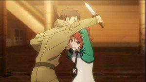 Erika fighting