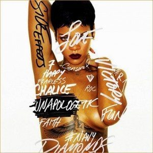 Cover of Rihanna's Unapologetic album