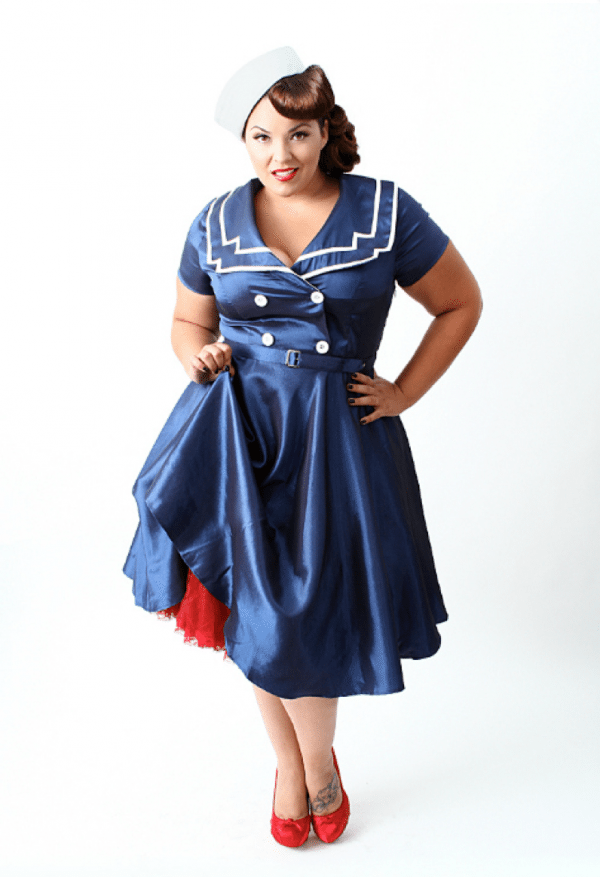 plus size clothes 1930s