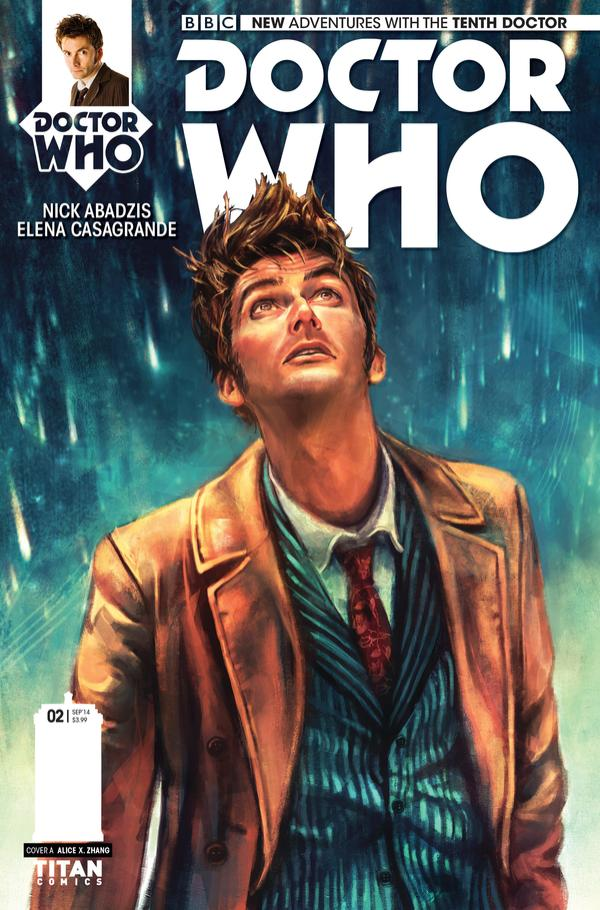 Doctor Who: Tenth Doctor #2 (cover)