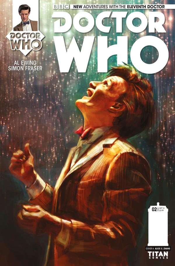 Titan Comics Doctor Who Eleventh Doctor #2 (cover)