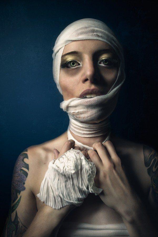 Mummy Model  Kelly Meissner