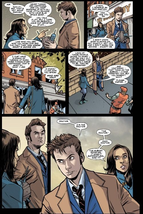 Doctor Who: The Tenth Doctor #2 (Titan Comics, 2014)