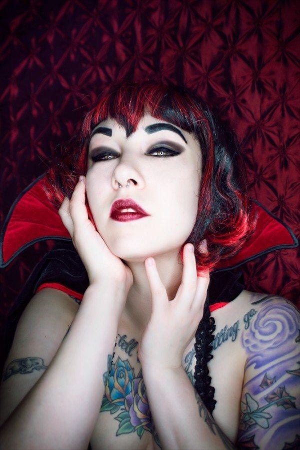 Vampire Model Sassie