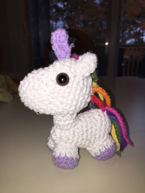 Birthday Giveaway: Custom Amigurumi Unicorn Persephone ...