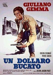 Un dolaro bucato, blood for a silver dollar movie poster