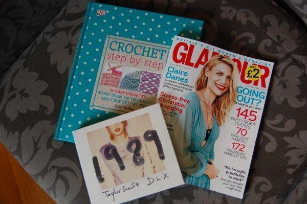 Book, magazine, CD