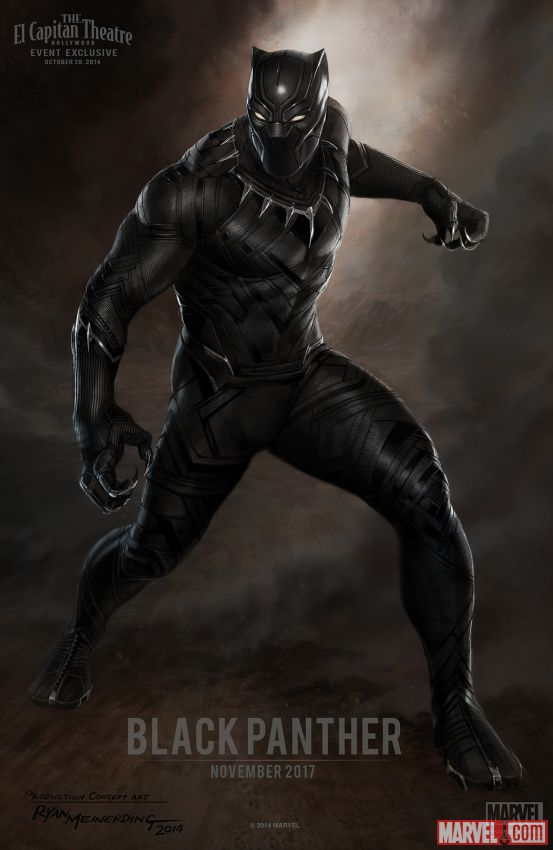 Poster mockup for Black Panther