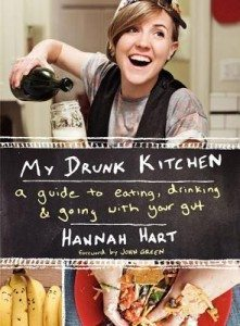The cover of My Drunk Kitchen by Hannah Hart