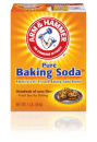 Picture of box of classic Arm & Hammer baking soda