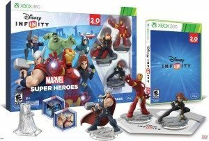 Disney Infinity Marvel Superheroes starter pack