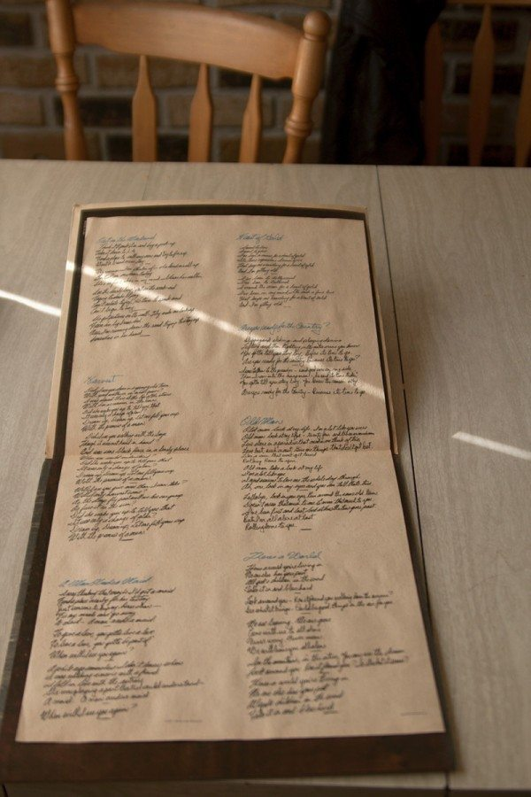 Neil Young - Harvest (lyric sheet)