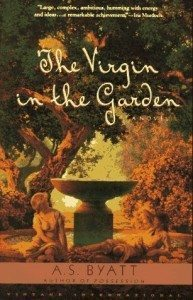 The Virgin in the Garden by A.S. Byatt, book cover