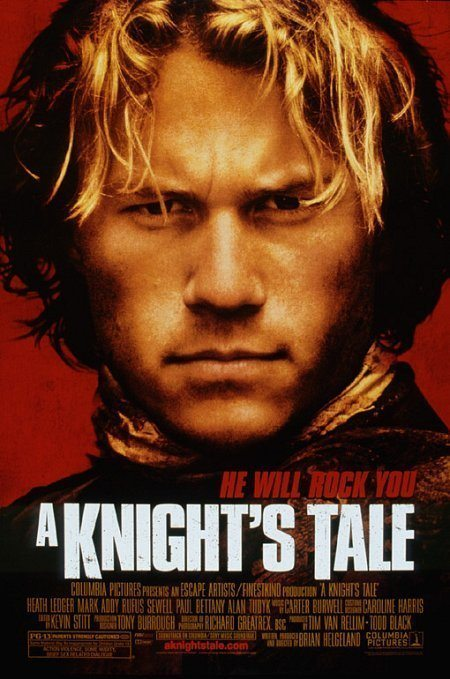 A Knight's Tale movie poster.
