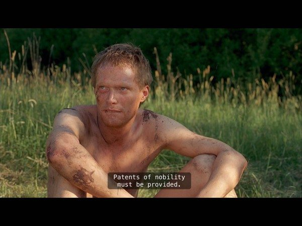 Paul Bettany as naked Chaucer