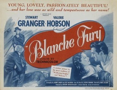 Blanche Fury film poster