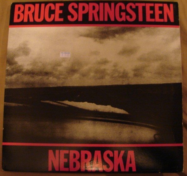 "An image of the front cover of Bruce Springsteen's album ""Nebraska."""