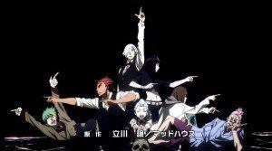 The assemble cast of Death Parade