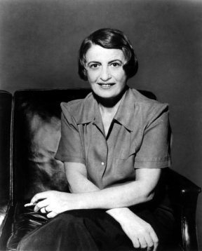 Photo of Ayn Rand