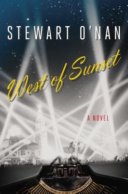 West of Sunset - Stewart O'Nan (cover)