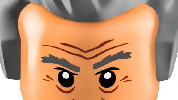 Twelfth Doctor LEGO face