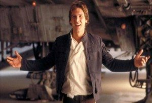 Han Solo in Return of the Jedi